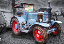 Ursus Oldtimer Traktor von Peter Roder