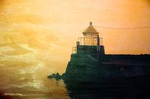 Fyllinga Lighthouse by Randi Grace Nilsberg