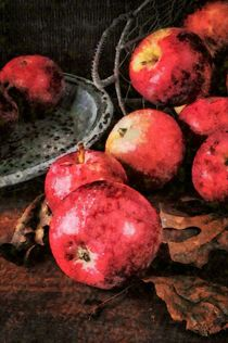 Apple Still Life by Edward  Fielding