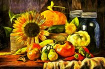 Autumn Harvest by Edward  Fielding