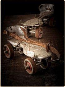 Vintage Roller Skates von Edward  Fielding