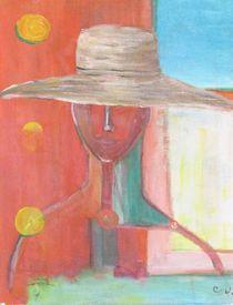 Portrait Avec Le Chapeau by Chaline Ouellet