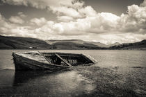 "Old Boat on ""Isle of Skye"" by Andreas Müller"