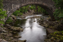 River Moriston Scotland von Andreas Müller