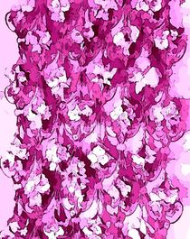 Abstract floral art by Amanda Elizabeth  Sullivan