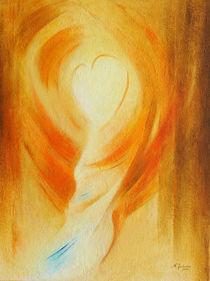 Weg zum Herzen - spirituelle Malerei von Marita Zacharias