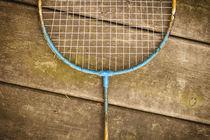 Alter Badmintonschläger by Elisabeth Cölfen