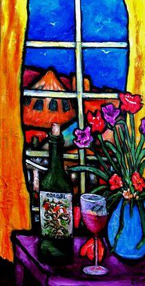 Colosi Wine with Flowers von Chaline Ouellet
