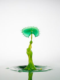 Waterdrop yellow series #2 by retina-photo