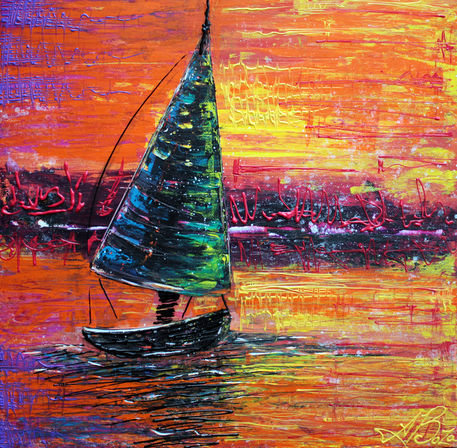 Sailing-at-sunset-by-laura-barbosa
