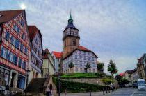 Stadtturm Backnang von Helmut Schneller