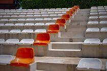 Orange Sitze von leddermann