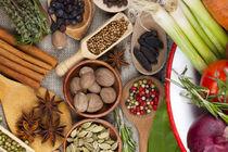 Gemüse, Kräuter und Gewürze I von Thomas Klee