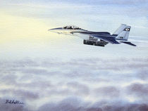 F-15 Eagle by bill holkham