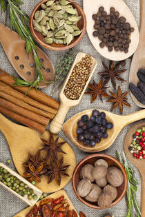 Duftende Zutaten zum würzen und kochen by Thomas Klee