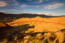 Painted Hills - Golden Hour von Cameron Booth