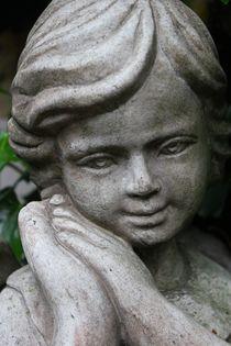 shy angel /schüchterner Engel von Kathy Lemburg