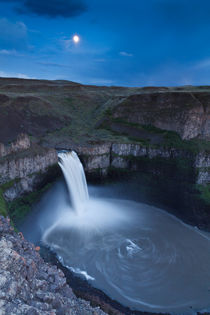 Palouse Falls Moon by Cameron Booth