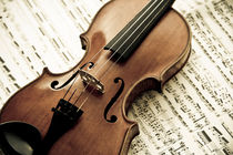 Geige  von Oliver Helbig