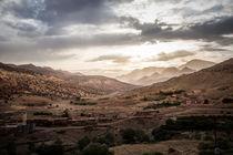 Marokko Berge von Simon Andreas Peter