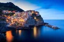 Manarola by Zoltan Duray