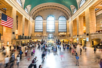 New York Grand Central Station  by caladoart