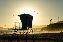 Rettungsschwimmer-Häuschen in Kalifornien by caladoart