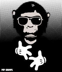 Yo Mickey by Pop Chimps by Marisa Rosato