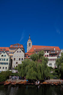 Tübingen from the Neckar von safaribears