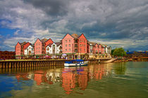 The Waterfront in Exeter by Pete Hemington