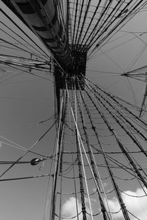 Rigging on a tall ship seen from below by Intensivelight Panorama-Edition