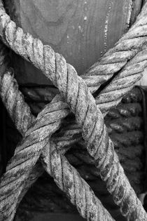 Ropes - monochrome von Intensivelight Panorama-Edition