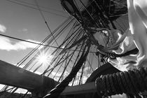 Sunshine and sails - monochrome von Intensivelight Panorama-Edition