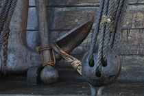 Anchor on a tall ship von Intensivelight Panorama-Edition