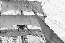 Brig - monochrome by Intensivelight Panorama-Edition