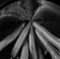 Fresh carrots - monochrome von Intensivelight Panorama-Edition