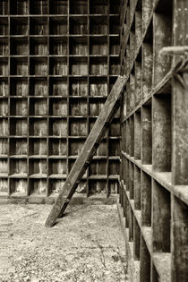 Cubby Hole & Stairs by Russ Dixon
