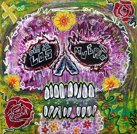 Craneo-rosado-de-los-muertos-by-laura-barbosa