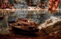 danube boats by Joseph Borsi