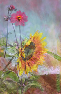 SUNFLOWER BOUQUET von © Ivonne Wentzler