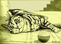 Kitty cat 2 von richard turgeon