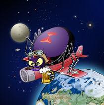 black widow in space von klemen gorup