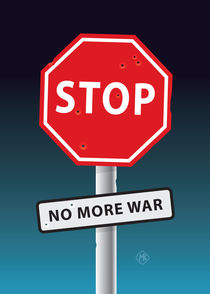 STOP No more war von Maarten Rijnen
