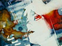 White face by Gabi Hampe