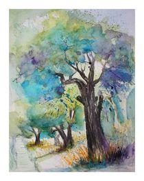 Olivenbäume von Inez Eckenbach-Henning