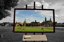 Dresden, der Blick des Canaletto, Variante 2 von ralf werner froelich