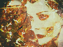 One face in the autumn by Gabi Hampe