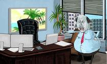 boss yelling to the employee von klemen gorup