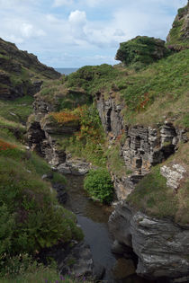 Rocky Valley, Bossiney, Cornwall by dresdner