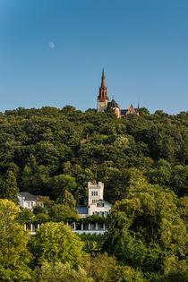 Villa Sachsen + Rochuskapelle - Bingen von Erhard Hess